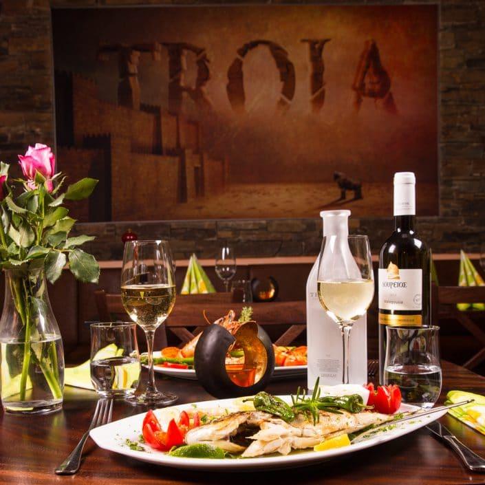 Restaurant Troja München - Fisch - Brasse gegrillt