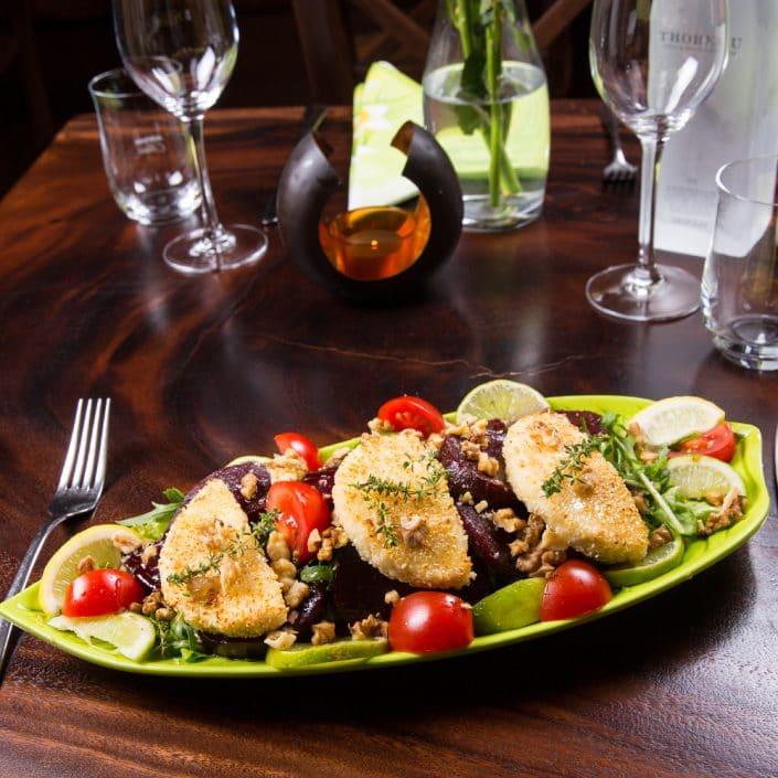 Restaurant Troja München - Salat - Rote Beete mit Feta