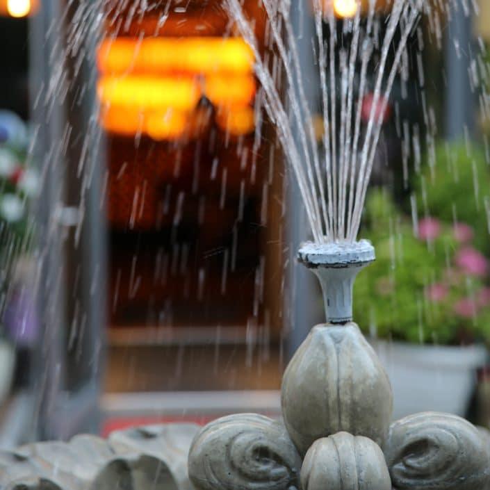 Springbrunnen Troja München