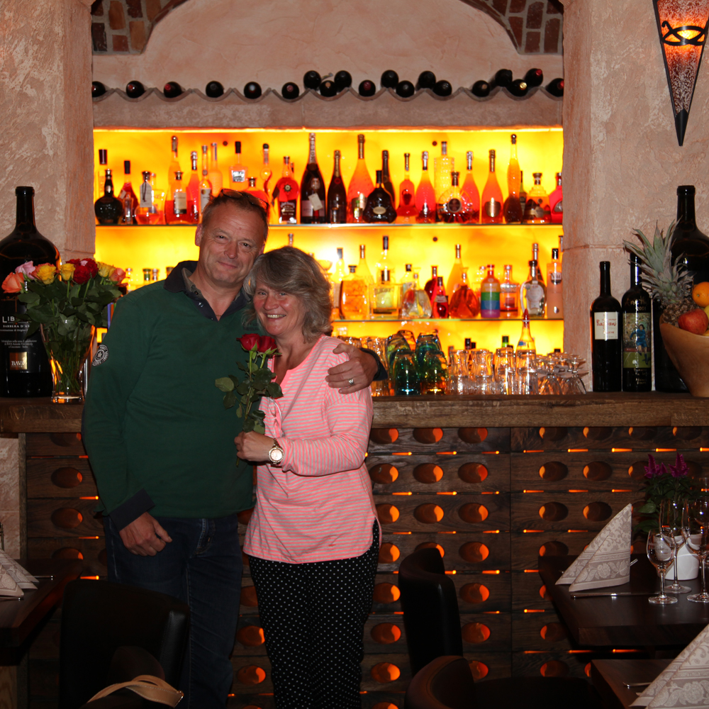 Restaurant Troja München - Gästepaar