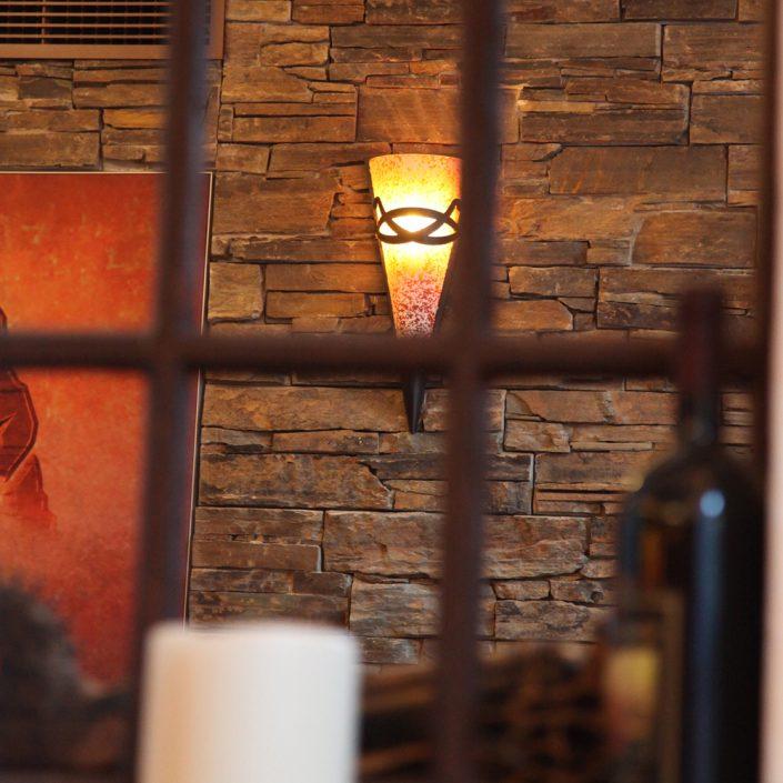 Restaurant Troja München - Wandleuchte