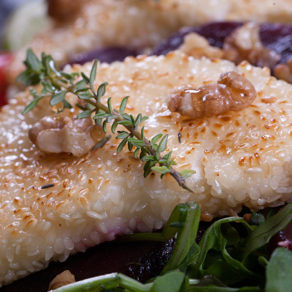 Restaurant Troja München - Salate - Rote Beete auf Blattsalat