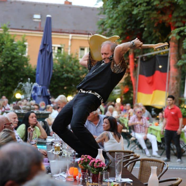Sommerfest Troja mit den Gagey Strings