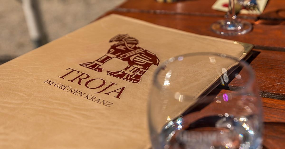 Troja München, Speisekarte, griechisches Restaurant München
